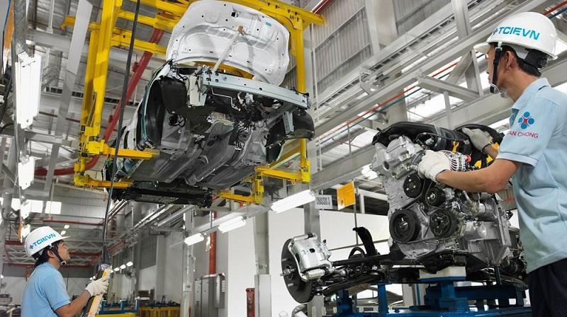 Một trong những giải pháp phát triển ôtô thương hiệu Việt làđiều chỉnh thuế suất, thuế nhập khẩu ưu đãi đối với linh kiện, phụ tùng.