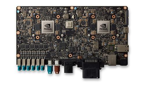 Module DRIVE PX của NVIDIA được phát triển riêng cho việc nghiên cứu trí tuệ nhân tạo trên xe ô tô.