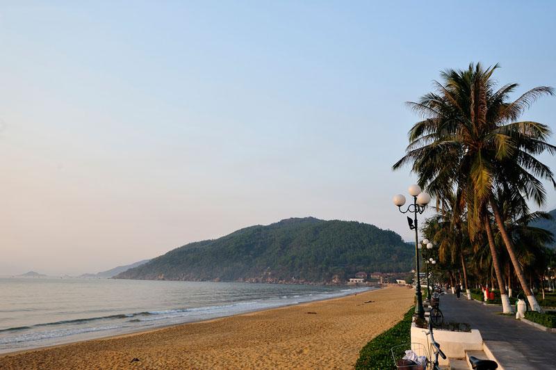 Bãi biển Quy Nhơn, Bình Định. Ảnh: Diem Dang Dung.