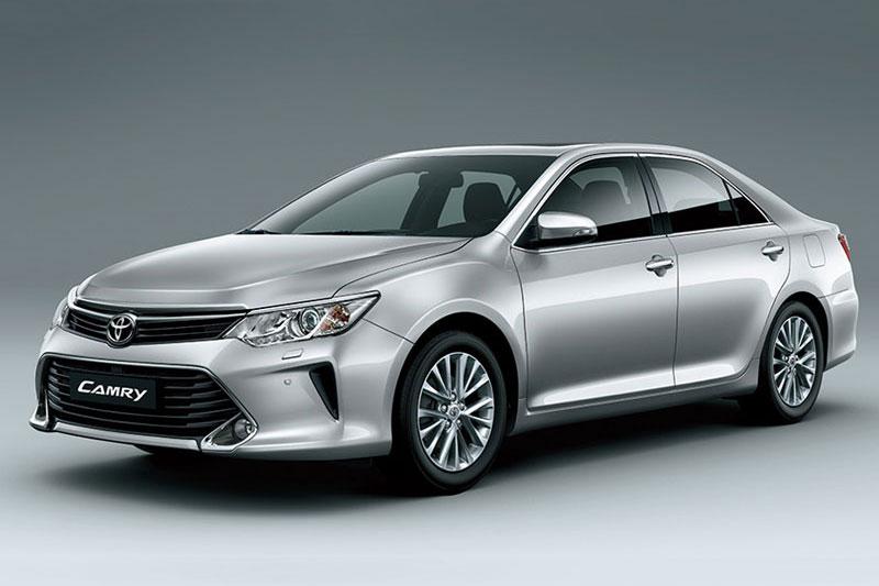 Toyota Camry đứng thứ 10 trong danh sách những ôtô bán chạy nhất Việt Nam tháng 6/2017.