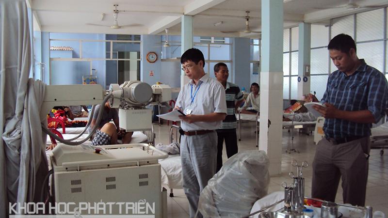 Đoàn thanh tra kiểm tra việc xử dụng nguồn phóng xạ tại các cơ sở y tế tỉnh Kiên Giang. Sở KH&Cn Kiên Giang