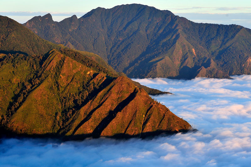 Địa điểm này giáp ranh giữa hai tỉnh Yên Bái và Sơn La. Ảnh: Diem Dang Dung.