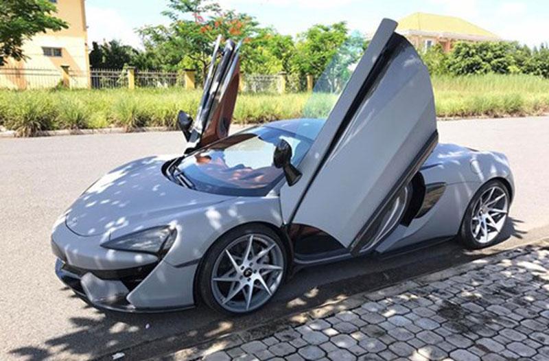 """McLaren 570S từng thuộc sở hữu của Cường """"Đô-la"""" tiếp tục được độ """"khủng"""
