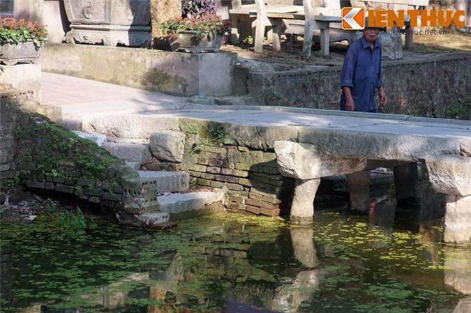 So với cầu đá làng Nôm nổi tiếng ở Hưng Yên, cầu đá của Bắc Ninh được xây dựng với kiểu thức tương tự...