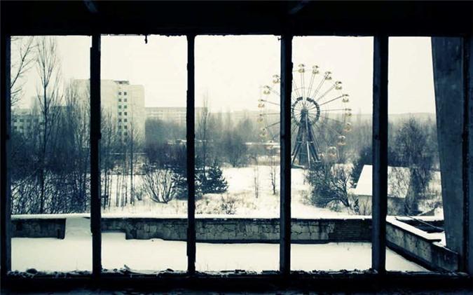Thanh pho Pripyat sau tham hoa hat nhan khung khiep