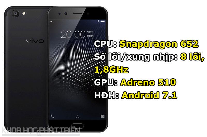 Tuy chạy hệ điều hành Android 7.1 Nougat nhưng Vivo X9s được tùy biến trên giao diện Funtouch OS 3.1.