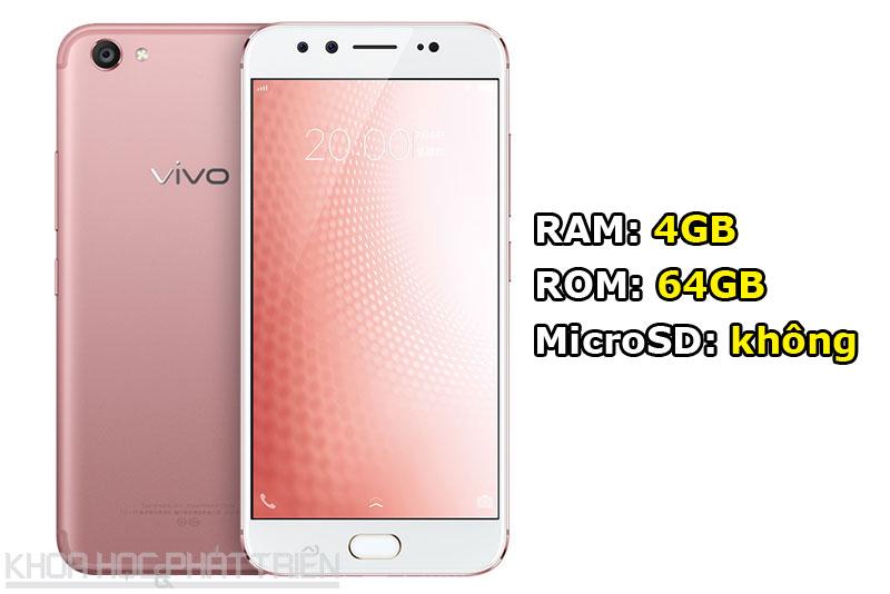 Vivo X9s đem đến cho khách hàng 3 tùy chọn về màu sắc gồm vàng, vàng hồng và đen nhám. Máy sẽ lên kệ tại Trung Quốc vào ngày 20.7 tới với giá 2.698 Nhân dân tệ (tương đương 8,92 triệu đồng).