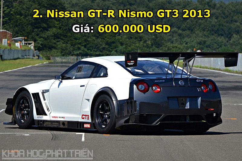 Top 10 xe Nissan đắt đỏ nhất trong lịch sử. Với giá bán lên tới 2,1 triệu USD, R390 GT1 1997 chính là chiếc ôtô đắt giá nhất trong lịch sử hãng xe Nissan. (CHI TIẾT)