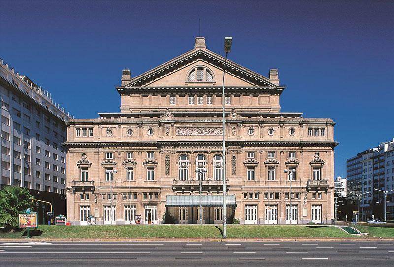 7. Nhà hát Teatro Colon. Nhà hát opera ở Thủ đô Buenos Aires, Argentina. Nó được National Geographic xếp hạng nhà hát opera tốt thứ ba trên thế giới và được coi là một trong năm địa điểm tổ chức hoà nhạc tốt nhất trên thế giới.