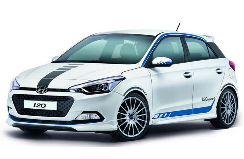 Hyundai i20 N đối thủ mới của Ford Fiesta ST hé lộ hình ảnh đầu tiên. Hyundai i20 N sẽ là phiên bản hiệu suất cao của i20 tiêu chuẩn với động cơ 1.6L tăng áp, công suất khoảng 200 mã lực. (CHI TIẾT)
