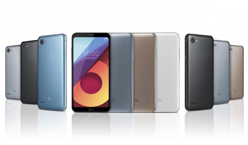 Bộ ba LG Q6 Series.