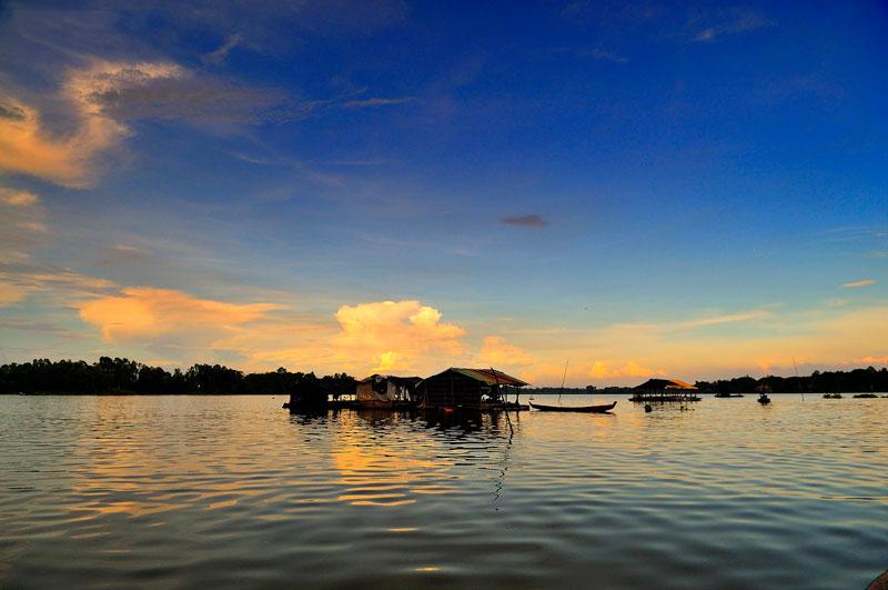 Búng Bình Thiên thuộc địa phận huyện An Phú, tỉnh An Giang, Việt Nam. Ảnh: Diem Dang Dung.
