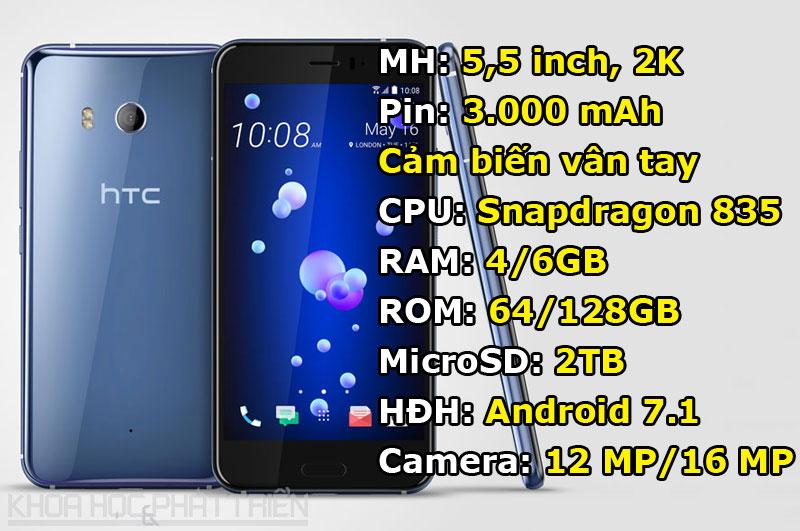 2. HTC U11 (180.100 điểm).