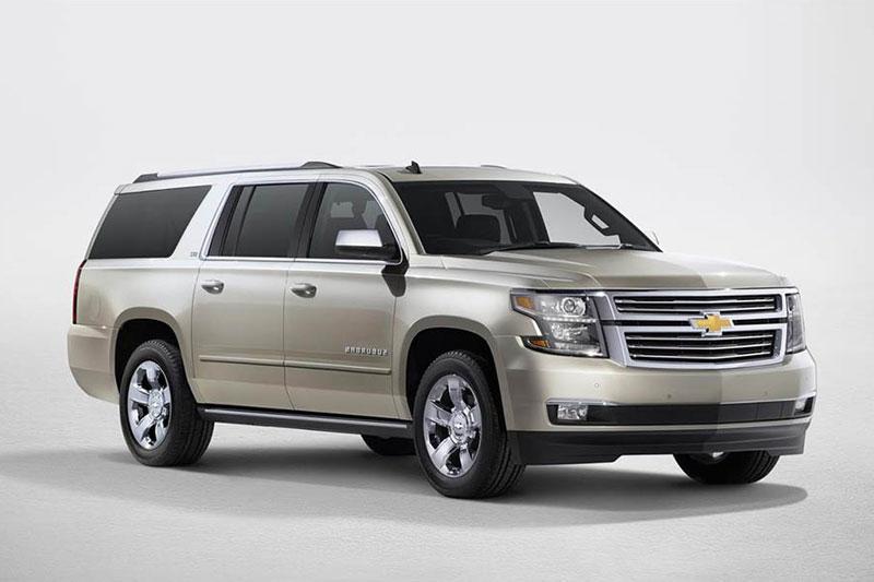 3. Chevrolet Suburban 2017.