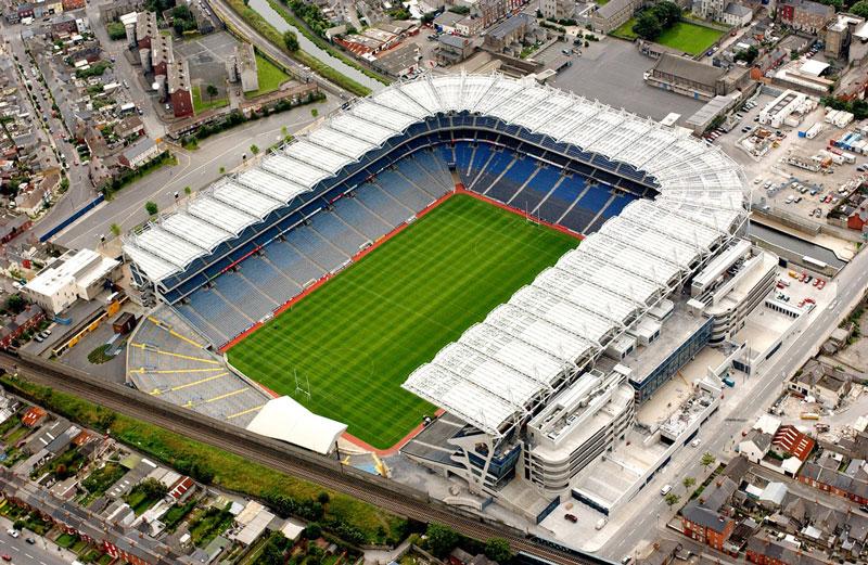 3. Croke Park (Cộng hòa Ireland) - sức chứa: 82.300 người.