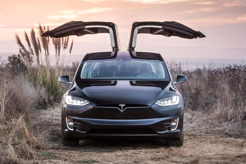 10. Tesla Model X.