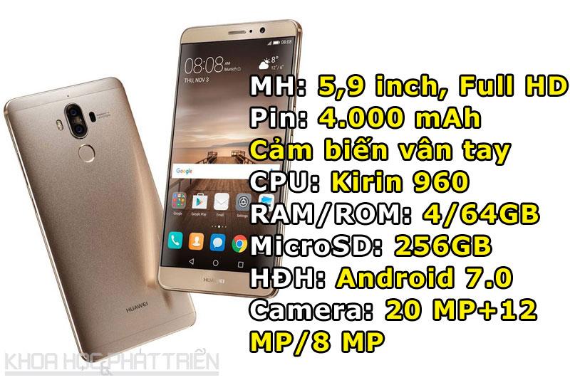 7. Huawei Mate 9.