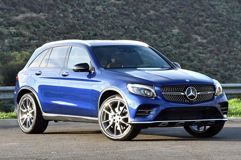 7. Mercedes-Benz GLC-Class.