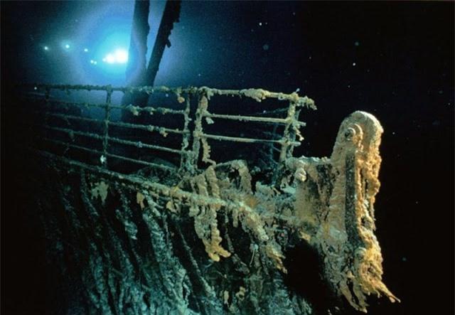 Loat anh lan dau tien phat hien tau dam Titanic nam 1985-Hinh-3