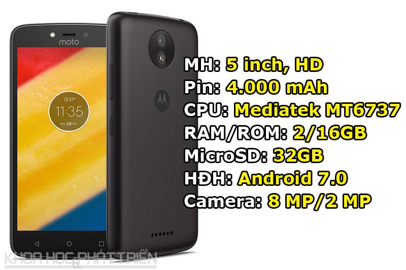 Motorola Moto C Plus.