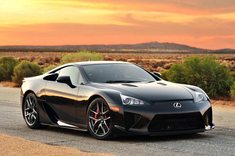 10. Lexus LFA.