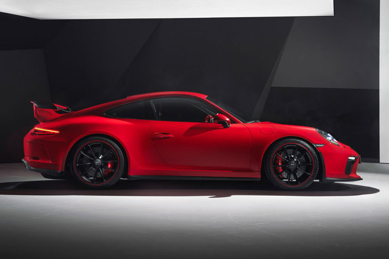 3. Porsche 911 GT3.