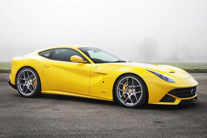 4. Ferrari F12 Berlinetta.