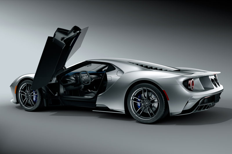 6. Ford GT.