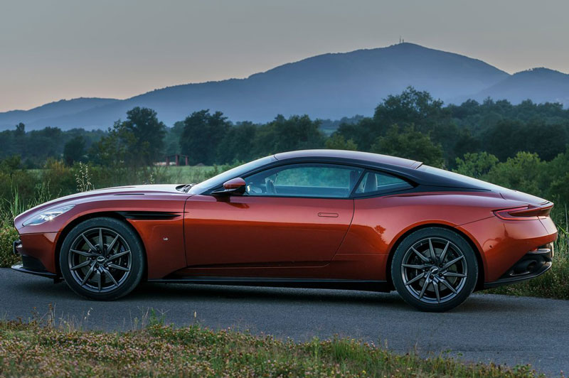 7. Aston Martin DB11.
