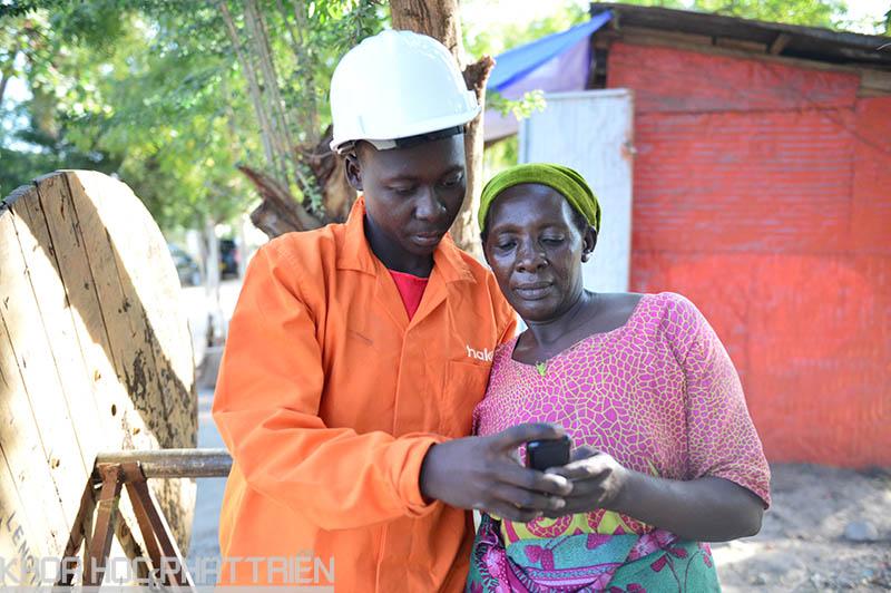 Sóng điện thoại di động được phủ đến nhiều ngôi làng tại Tanzania