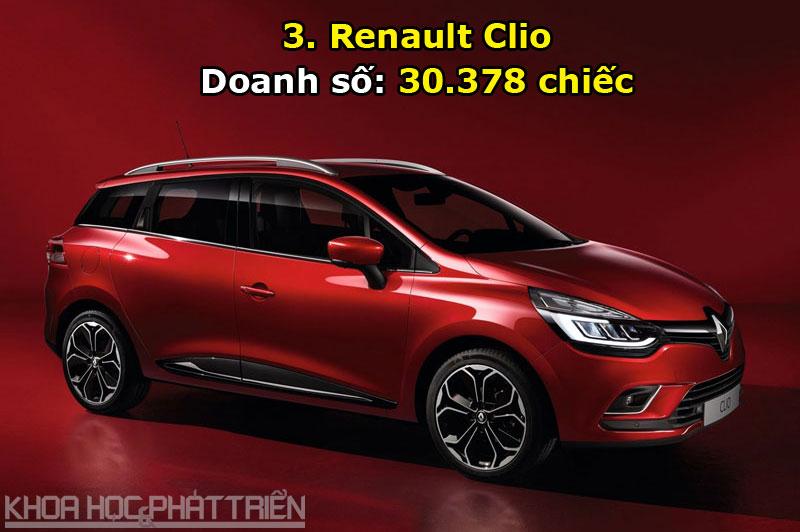 3. Renault Clio.