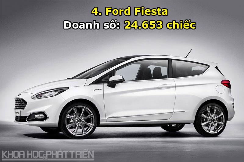 4. Ford Fiesta.