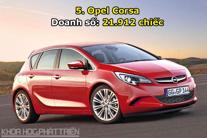 5. Opel Corsa.