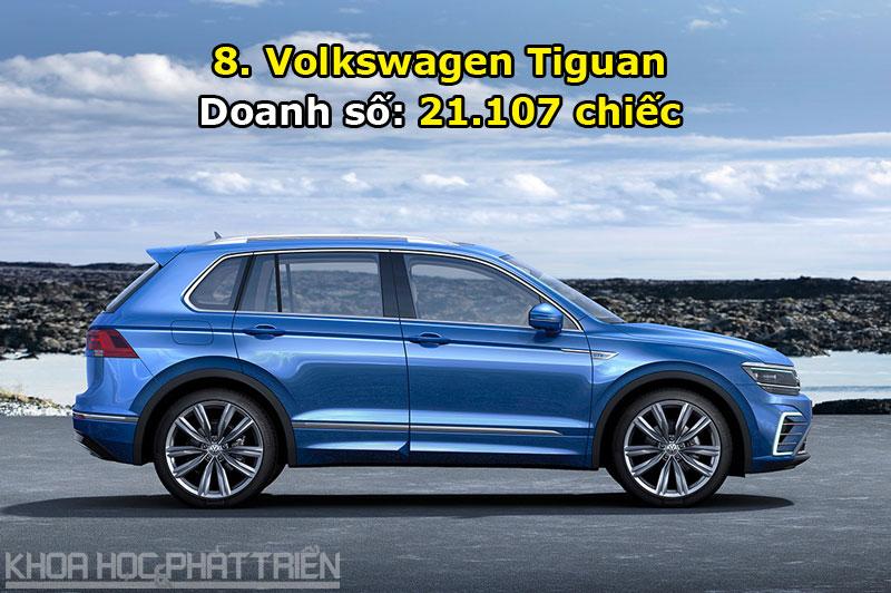 8. Volkswagen Tiguan.