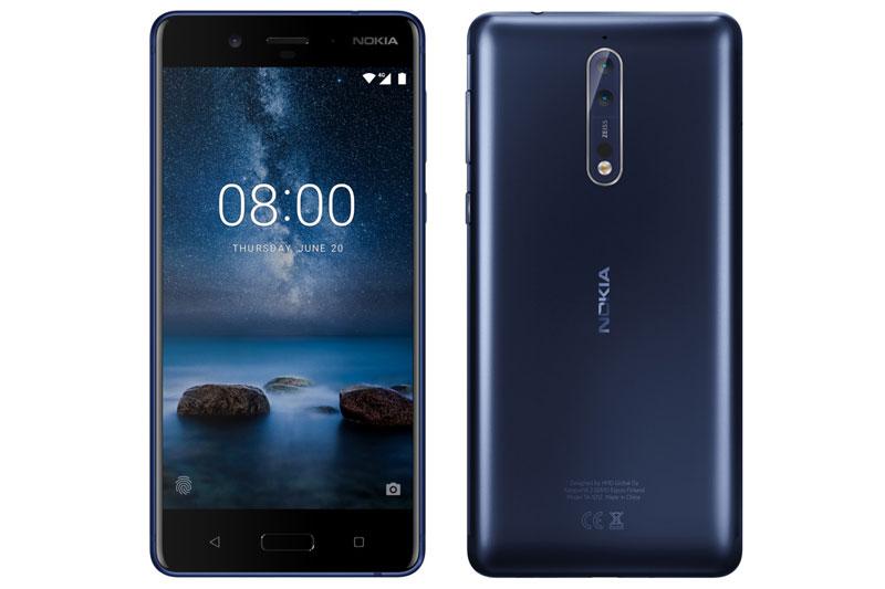 Hình ảnh rò rỉ của Nokia 8.