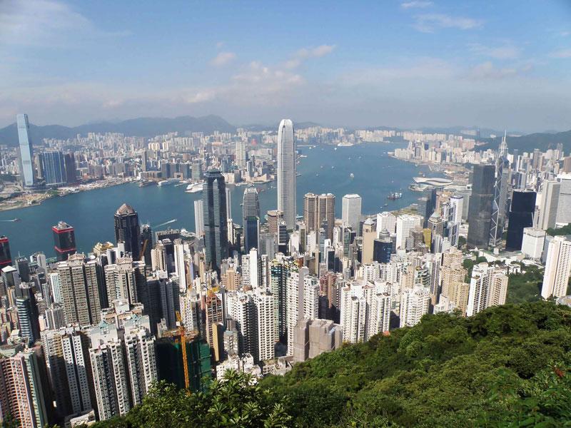 1. Hồng Kông, Trung Quốc. Tổng số tòa nhà chọc trời: 295.