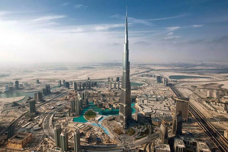 3. Dubai, Các tiểu vương quốc Arập Thống nhất. Tổng số tòa nhà chọc trời: 140.