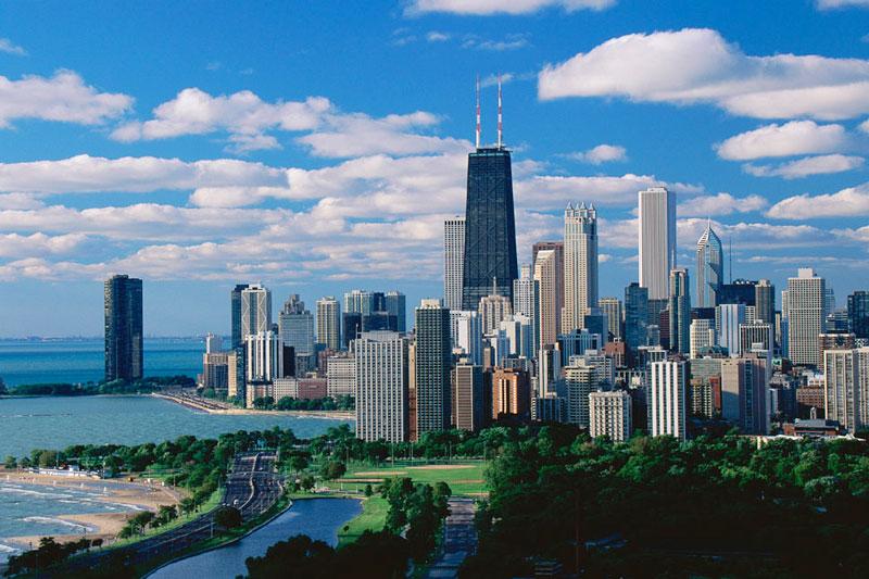 5. Thành phố Chicago, Mỹ. Tổng số tòa nhà chọc trời: 113.