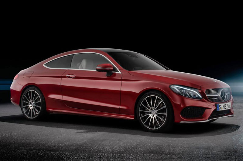 6. Mercedes-AMG C63 Coupe.