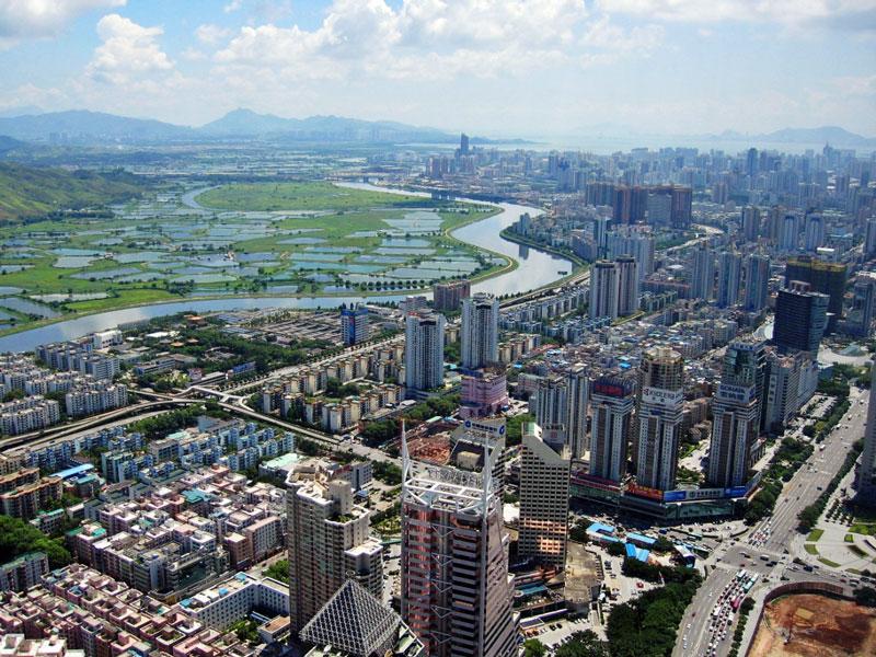 9. Thành phố Thâm Quyến, Trung Quốc. Tổng số tòa nhà chọc trời: 65.