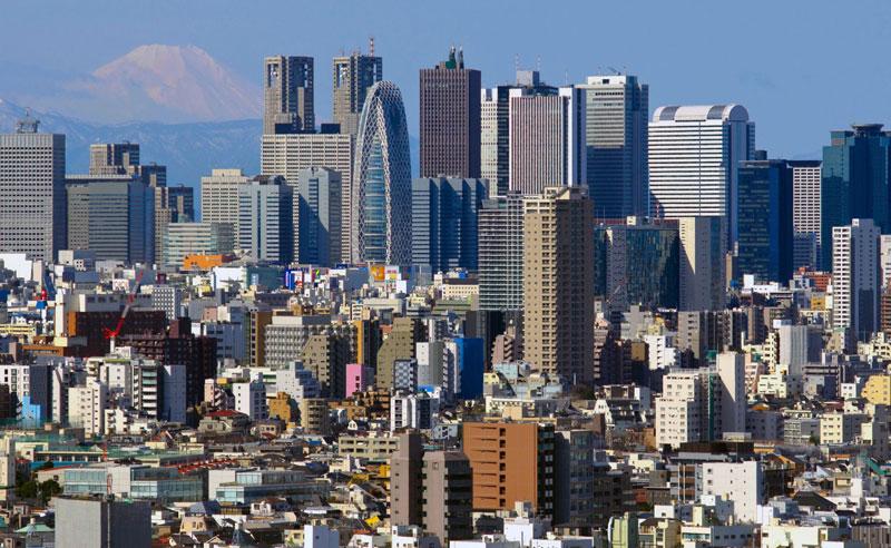 6. Thủ đô Tokyo, Nhật Bản. Tổng số tòa nhà chọc trời: 111.