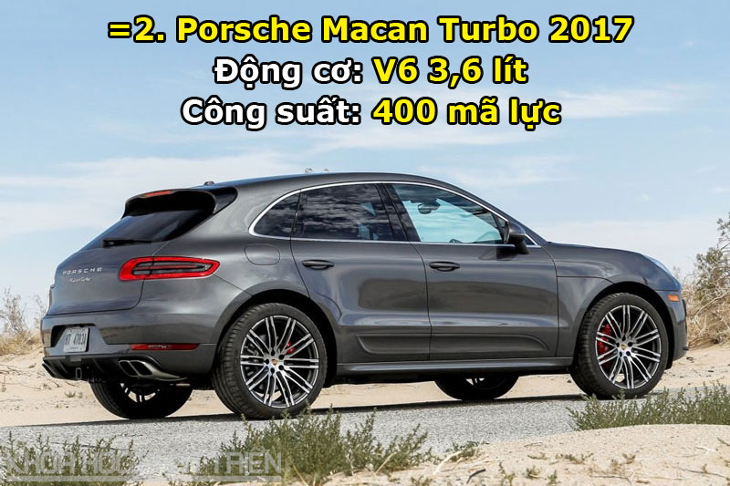 =2. Porsche Macan Turbo 2017.