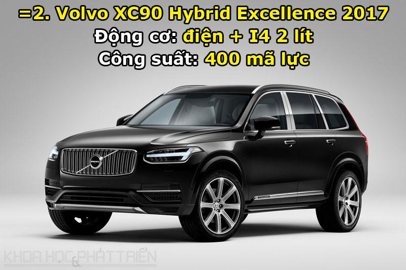 =2. Volvo XC90 Hybrid Excellence 2017.