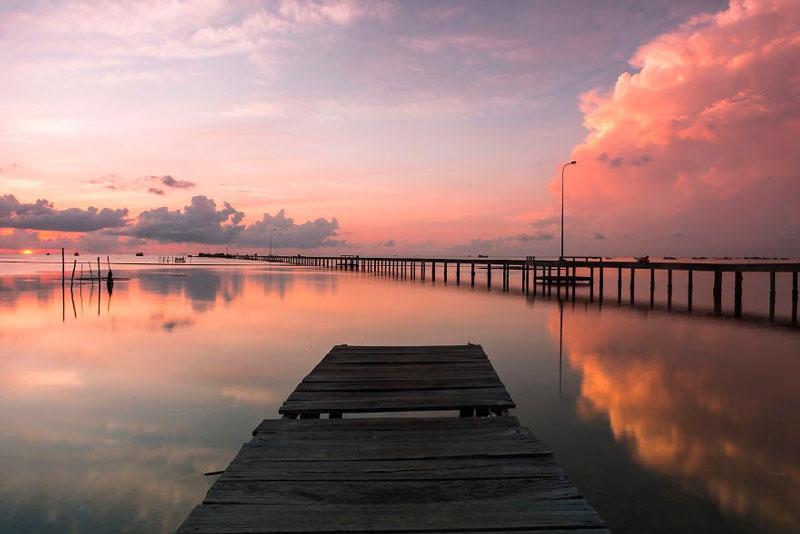 Năm 2006, Khu dự trữ sinh quyển ven biển và biển đảo Kiên Giang bao gồm cả huyện này được UNESCO công nhận là khu dự trữ sinh quyển thế giới. Ảnh: Kienthuc.