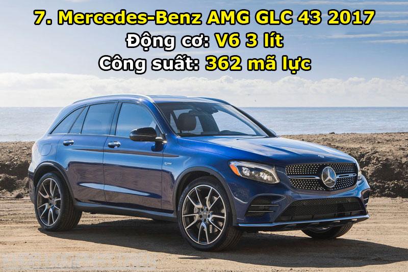 7. Mercedes-Benz AMG GLC 43 2017.