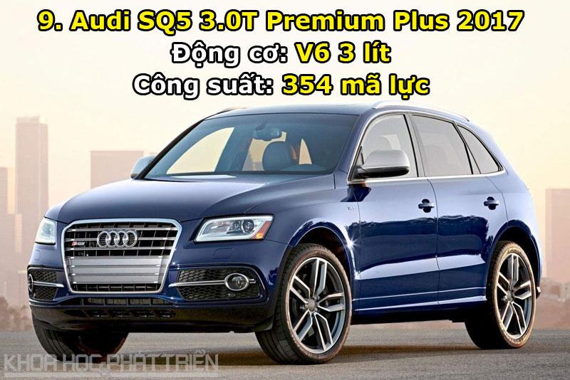 9. Audi SQ5 3.0T Premium Plus 2017.