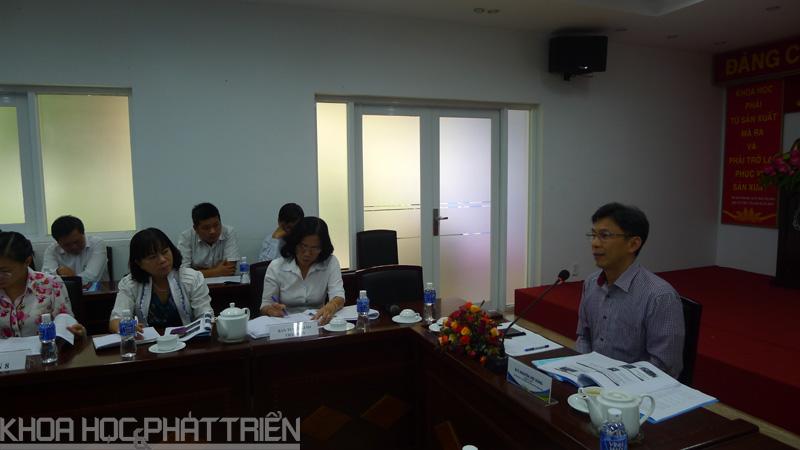 Ông Nguyễn Việt Dũng - Giám đốc Sở KH&CN TP.HCM chủ trì hội thảo