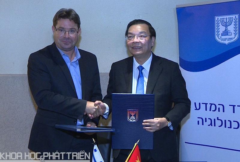 Việt Nam - Israel Việt Nam - Israel thống nhất đẩy mạnh hợp tác KH&CN của các nhà khoa học và các tổ chức KH&CN giữa hai nước