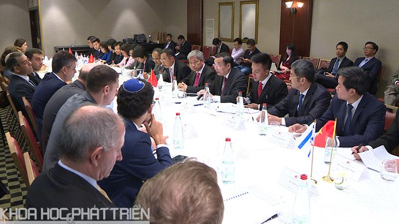 Toàn cảnh Kỳ họp lần thứ 2 Uỷ ban liên Chính phủ Việt Nam - I-xra-en về hợp tác kinh tế, khoa học và công nghệ và các lĩnh vực khác