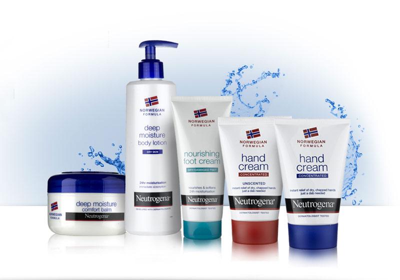5. Neutrogena. Đây là nhãn hàng chăm sóc da, tóc và mỹ phẩm có trụ sở tại Los Angeles, Mỹ. Neutrogena được sáng lập vào năm 1930 bởi Emanuel Stolaroff. Sản phẩm của hãng rất đa dạng từ sữa tắm, kem dưỡng, chăm sóc tóc… cho cả nam lẫn nữ.